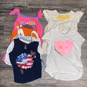 Other - Lot of 6 girls shirts 4/5